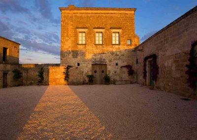 Dawn at Masseria Celano