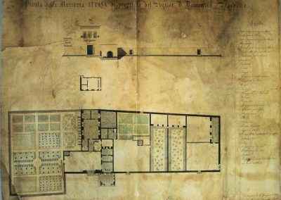 Masseria Celano old map