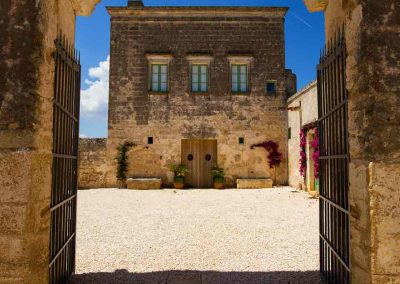 Masseria Celano, the main gate