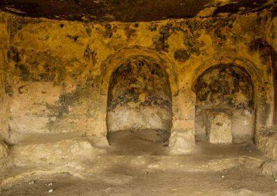 Gravina di Riggio, Grotta del cenobio