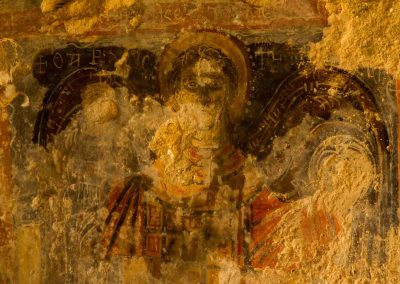 Fresco in the Cenobytic Grotto (detail)