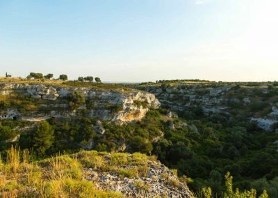 The first bend of Gravina di Riggio